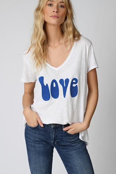 LOVE CAMISETA BLANCA