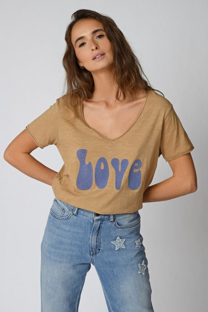 LOVE CAMISETA CAMEL